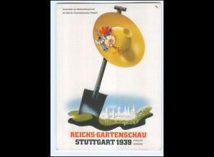 V2085/ Stuttgart Reichs-Gartenschau 1939 + SST