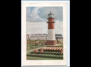 Y20683/ Büsum Leuchtturm AK 1954