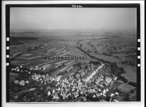 ZZ-5537/ Stetten a. H. bei Schwaigern Foto seltenes Luftbild 18 x 13 cm ca. 1935