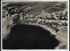 ZZ-5542/ Wustrow seltenes Foto Luftbild 18 x 13 cm