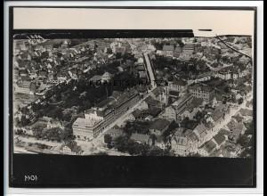 ZZ-5544/ Schwenningen seltenes Foto Luftbild 18 x 13 cm