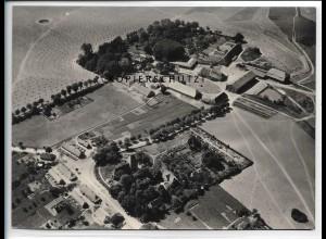 ZZ-5545/ Groß Brütz bei Brüsewitz seltenes Foto Luftbild 18 x 13 cm