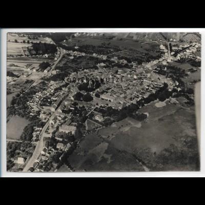 ZZ-5547/ Wesenberg seltenes Foto Luftbild 18 x 13 cm