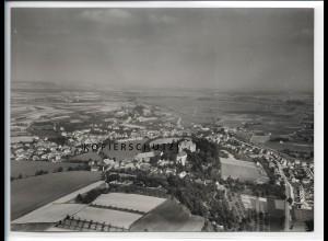 ZZ-5554/ Erbach seltenes Foto Luftbild 18 x 13 cm