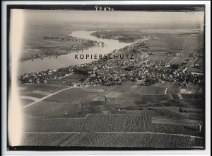 ZZ-5559/ Nierstein seltenes Foto Luftbild 18 x 13 cm