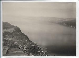 ZZ-5562/ Wallhausen Konstanz seltenes Foto Luftbild 18 x 13 cm