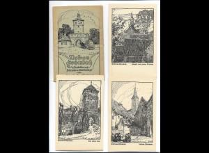 XX15138/ 8 x AK Wolfram Eschenbach Federzeichnung v. Gretl Wolfinger 1920