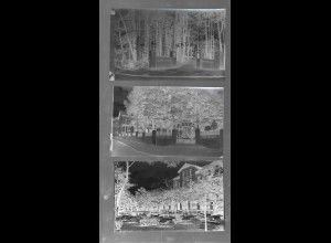 Neg6185/ 5 x Reinbek Konditorei Nagel alte Negative 50er Jahre