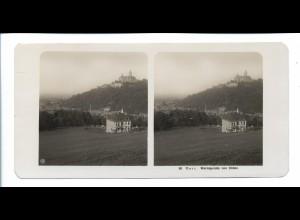 Y20621/ Stereofoto NPG Foto Wernigerode von Süden ca.1910