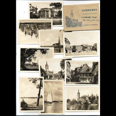 Y20626/ Schwerin 10 Fotos 9 x 6,5 cm 60er Jahre