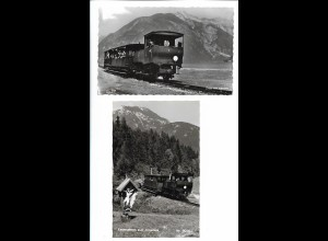 Y20764/ 2 x AK Zahnradbahn Achensee Tirol ca. 1955-60
