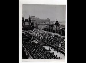 F6141/ Moskau Aufmarsch zur Oktober-Revolution Foto ca.1960 24 x 18 cm