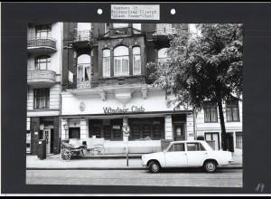 C1590 AK / Hamburg Eimsbüttel Weidenstieg Windsor Club Foto ca.1970 24 x 18 cm