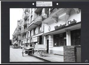 C1592 AK / Hamburg Eimsbüttel Weidenstieg Windsor Club Foto ca.1970 24 x 18 cm