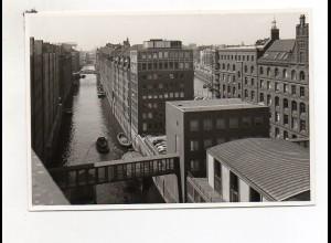 Y822 AK/ Hamburg Freihafen Brooksfleet Foto ca.1965 12,5 x 8,5 cm