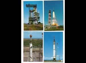 Y902/ 13 x AK Raumfahrt John F. Kennedy Space Center, NASA, Mercury Redstone etc