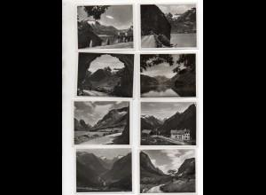 Y1316/ 12 Fotos Norwegen Stryn - Videsaeter ca.1930 9 x 7 cm