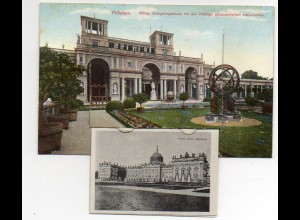 N3140-144./ Potsdam AK mit Leporello ca.1910