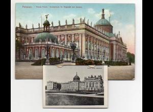 N3139-144./ Potsdam AK mit Leporello ca.1910