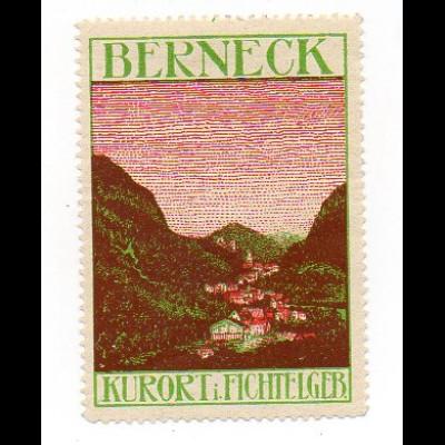 Y993/ Reklamemarke Berneck Fichtelgeb. ca.1920