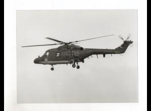 C1790/ Hubschrauber SEA LZNX MK 88 Bundeswehr Foto 1983 21,5 x 16,5 cm
