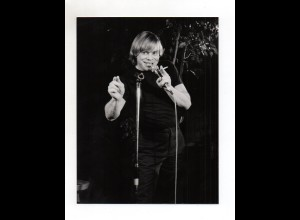 F6597/ Volker Lechtenbrink singt Foto 1990 21,5 x 16,5 cm