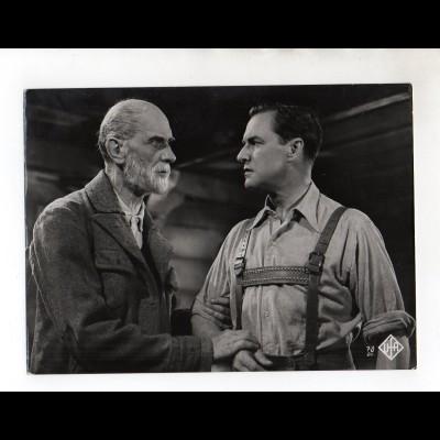 """F6464/ Eduard Köck und Paul Richter in """"Waldrausch"""" Ufa Foto 1939 23 x 17 cm"""