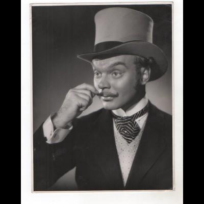 """F6452/ Hans Richter in """"Absender unbeaknnt"""" Foto 1950 24 x 18 cm"""