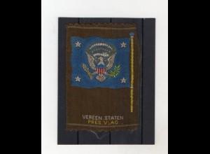 Y20052/ USA Sammelbild aus Seide - Aus allen Herren Länder - 1930