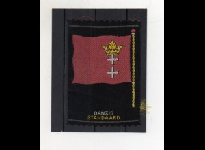 """Y20048/ Danzig Standard Sammelbild aus Seide """"Aus allen Herren Länder"""" 1930"""