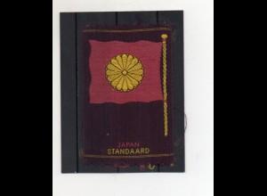 Y20050/ Japan Sammelbild aus Seide - Aus allen Herren Länder - 1930