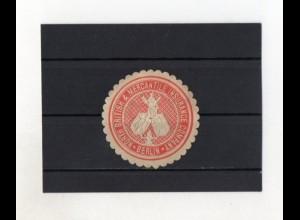Y2022/ Siegelmarke North British & Marcantile Insurance, Berlin ca.1912
