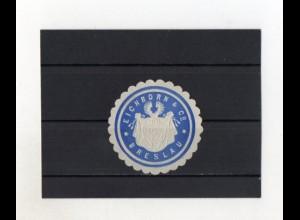 Y2019/ Siegelmarke Eichhorn & Co. Breslau Schlesien ca.1910