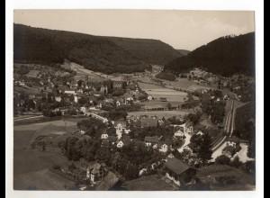 C1816/ Calw Hirsau mit Bahnhof Original Foto 24 x 18 cm ca.1900-10