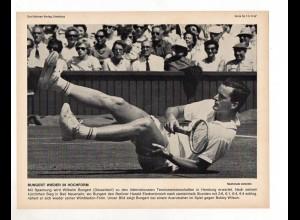 FP240/ Tennis Wilhelm Bungert - Bobby Wilson 1967 23 x 17 cm