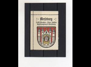 Y2115/ Reklamemarke Merseburg Prov. Sachsen Wappen ca.1930 Kaffee Hag
