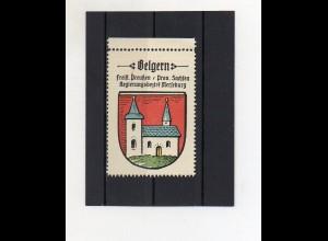 Y2117/ Reklamemarke Belgern Prov. Sachsen Wappen ca.1930 Kaffee Hag
