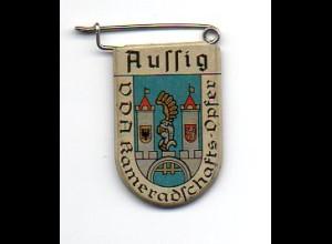 Y2234/ VDA Abzeichen Wappen Aussig