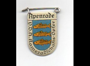 Y2231/ VDA Abzeichen Wappen Apenrade Nordschleswig