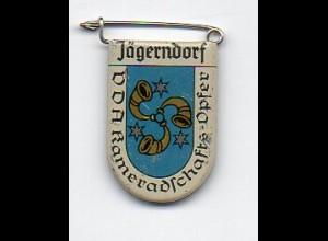 Y2215/ VDA Abzeichen Wappen Jägerndorf Sudetenland