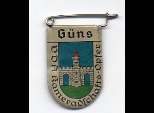 Y2219/ VDA Abzeichen Wappen Güns Köszeg Ungarn