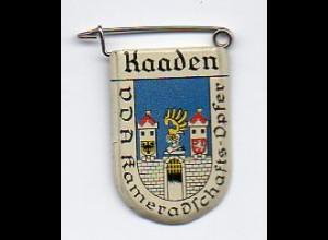 Y2218/ VDA Abzeichen Wappen Kaaden Kadan Tschechien