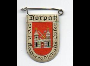 Y2216/ VDA Abzeichen Wappen Dorpat Tartu Estland