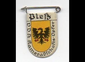 Y2209/ VDA Abzeichen Wappen Pleß Polen