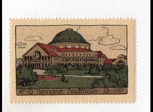 Y3911/ Reklamemarke Hannover Steinzeichnung Litho ca.1912