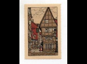 Y3912/ Reklamemarke Hannover Steinzeichnung Litho ca.1912