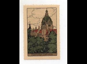 Y3913/ Reklamemarke Hannover Steinzeichnung Litho ca.1912