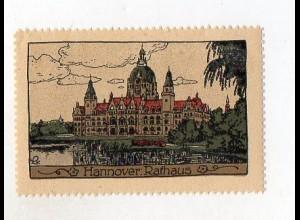 Y3914/ Reklamemarke Hannover Steinzeichnung Litho ca.1912