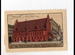 Y3915/ Reklamemarke Hannover Steinzeichnung Litho ca.1912