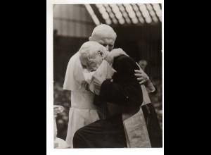 C2032/ Papst Johannes Paul II. Foto 24 x 18 cm ca.1985